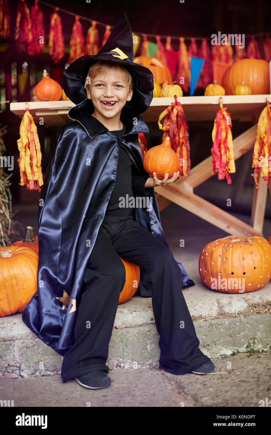Abundant year because of pumpkins - Stock Image