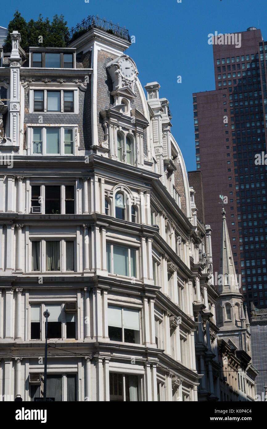 Gilsey House at 1200 Broadway on West 29th Street, NYC - Stock Image