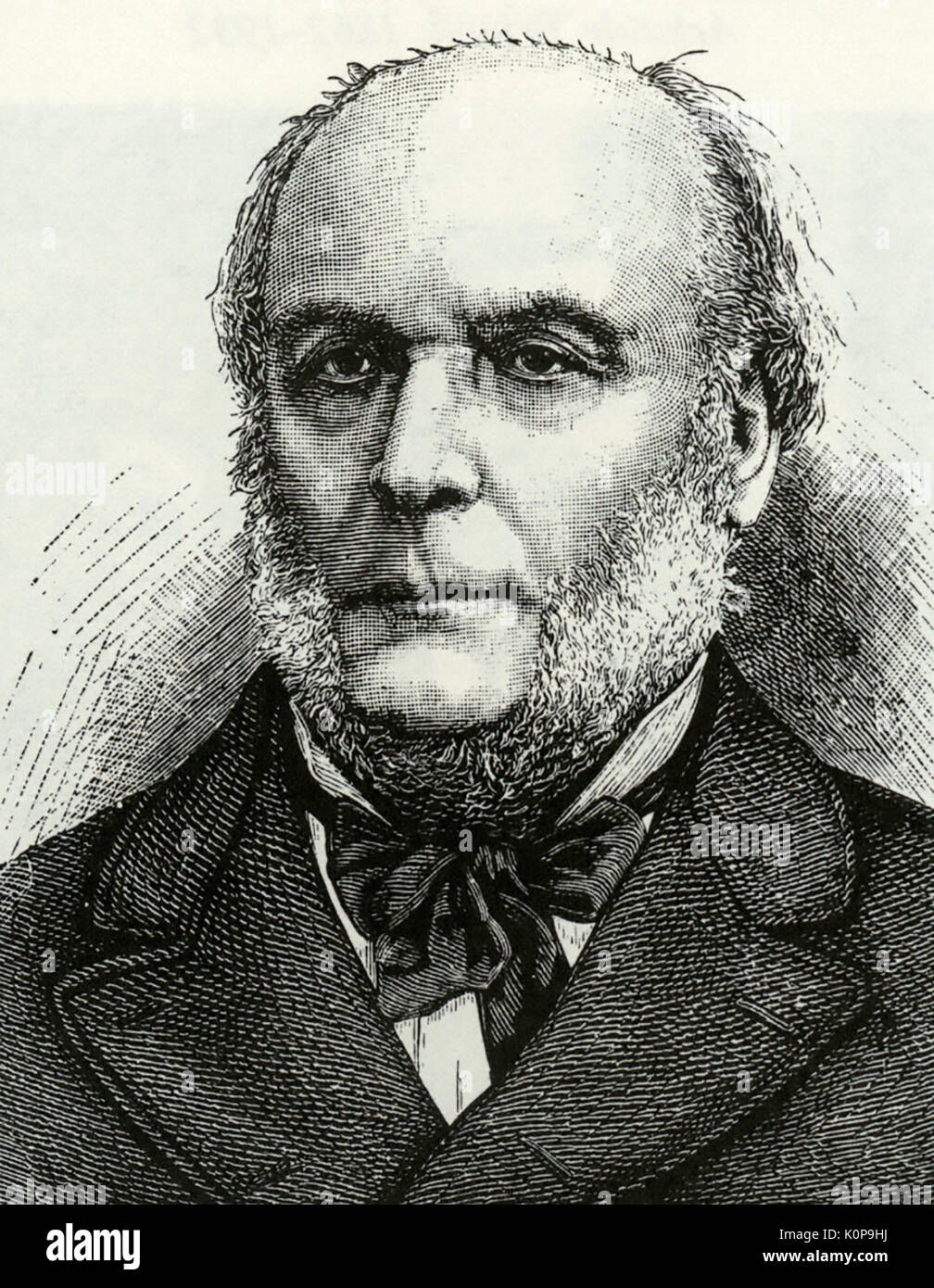 JULES GREVY (1807-1891) President of the Third French Republic - Stock Image