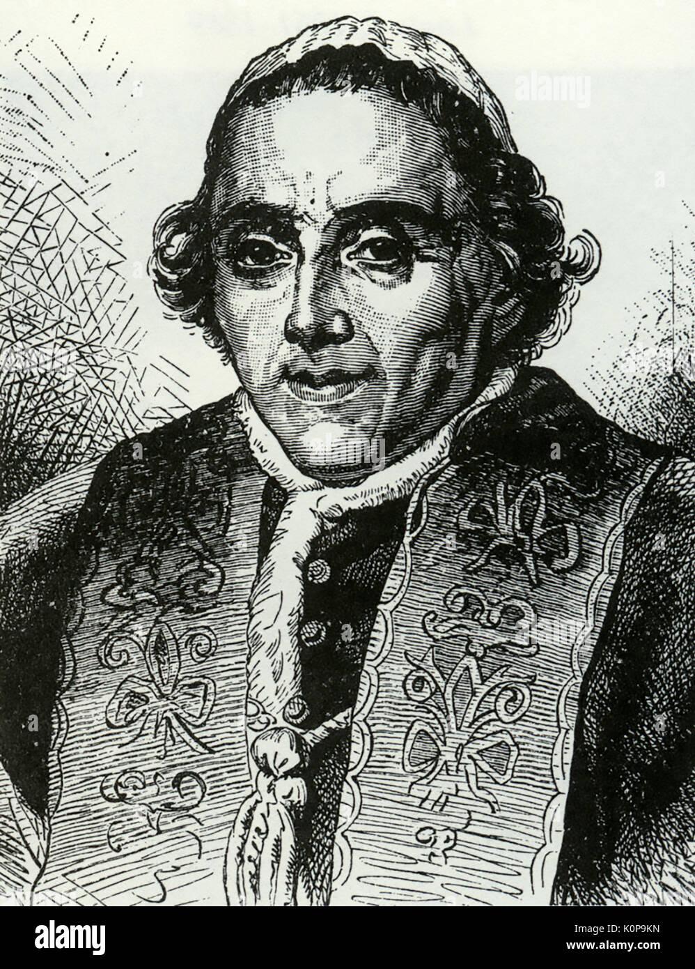 POPE PIUS VII (1742-1823) - Stock Image