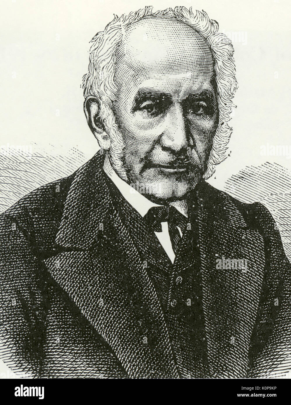 JULES GREVY (1807-1891) as President of the Third French Republic - Stock Image