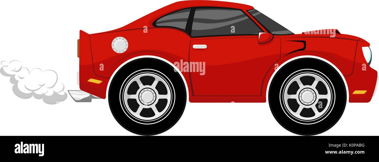 Funny Car Stock Vector Images Alamy