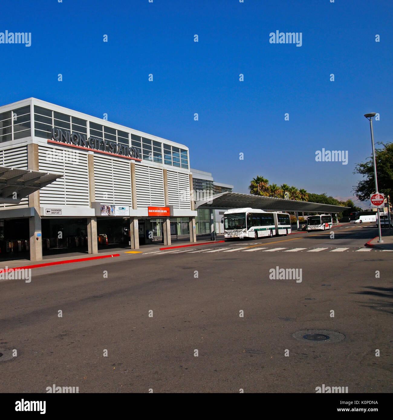 Union City BART Station, California - Stock Image