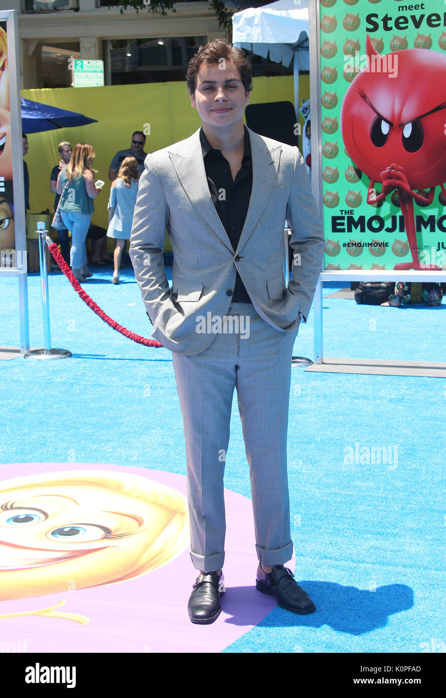 Jake t austin stock photos jake t austin stock images page 2 alamy the world premiere of the emoji movie featuring jake t austin where m4hsunfo