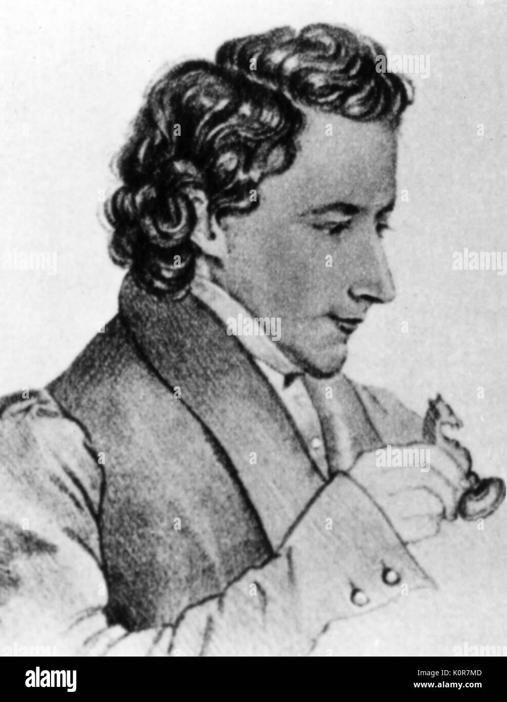 KENNER, Josef   by Max von Chezy Friend of Schubert. - Stock Image