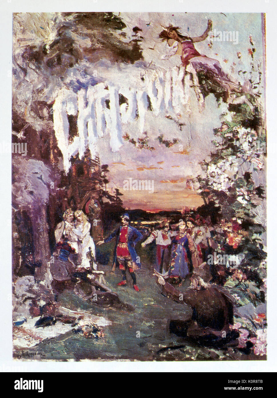 Who wrote the opera Khovanshchina