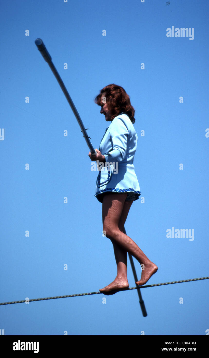 Girl On High Wire - WIRE Center •