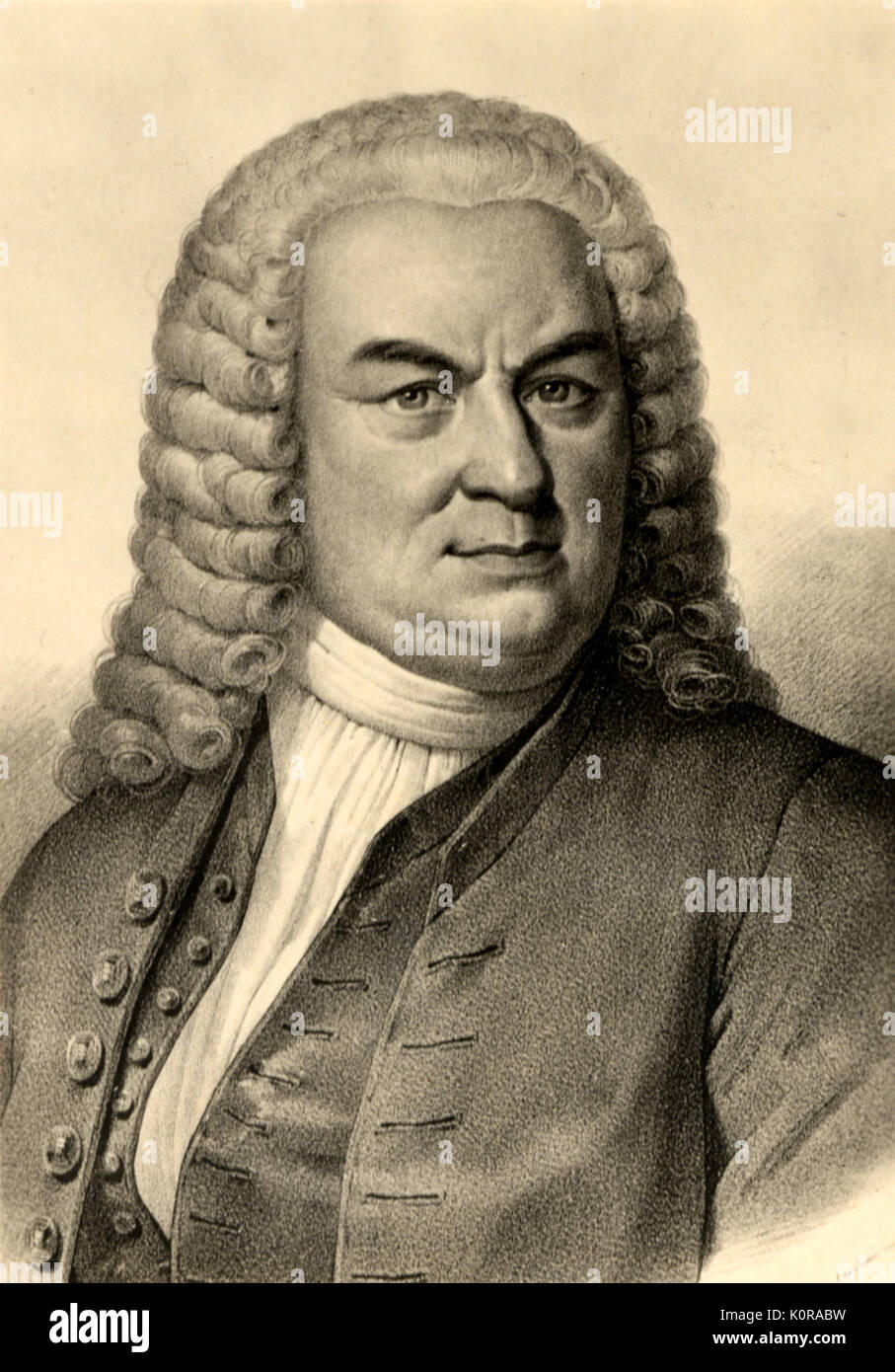 Photo Johann Sebastian Bach,1685-1750,German composer,violist