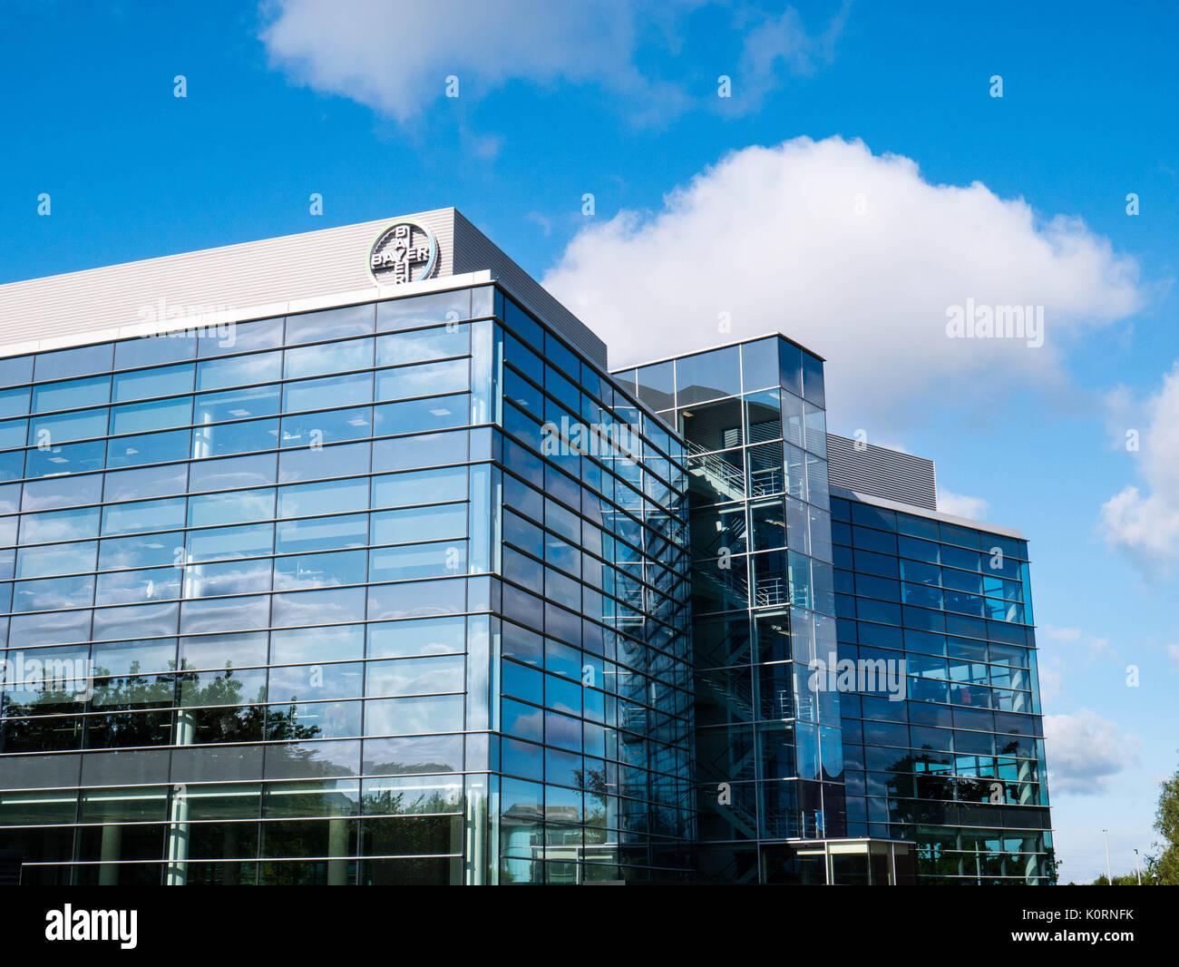 Bayer Plc, Green Park Business Park, Reading, Berkshire, England - Stock Image
