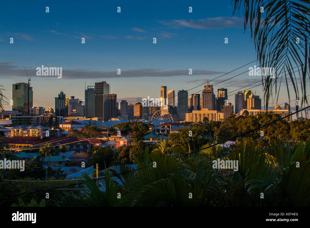 Brisbane Skyline - Stock Image