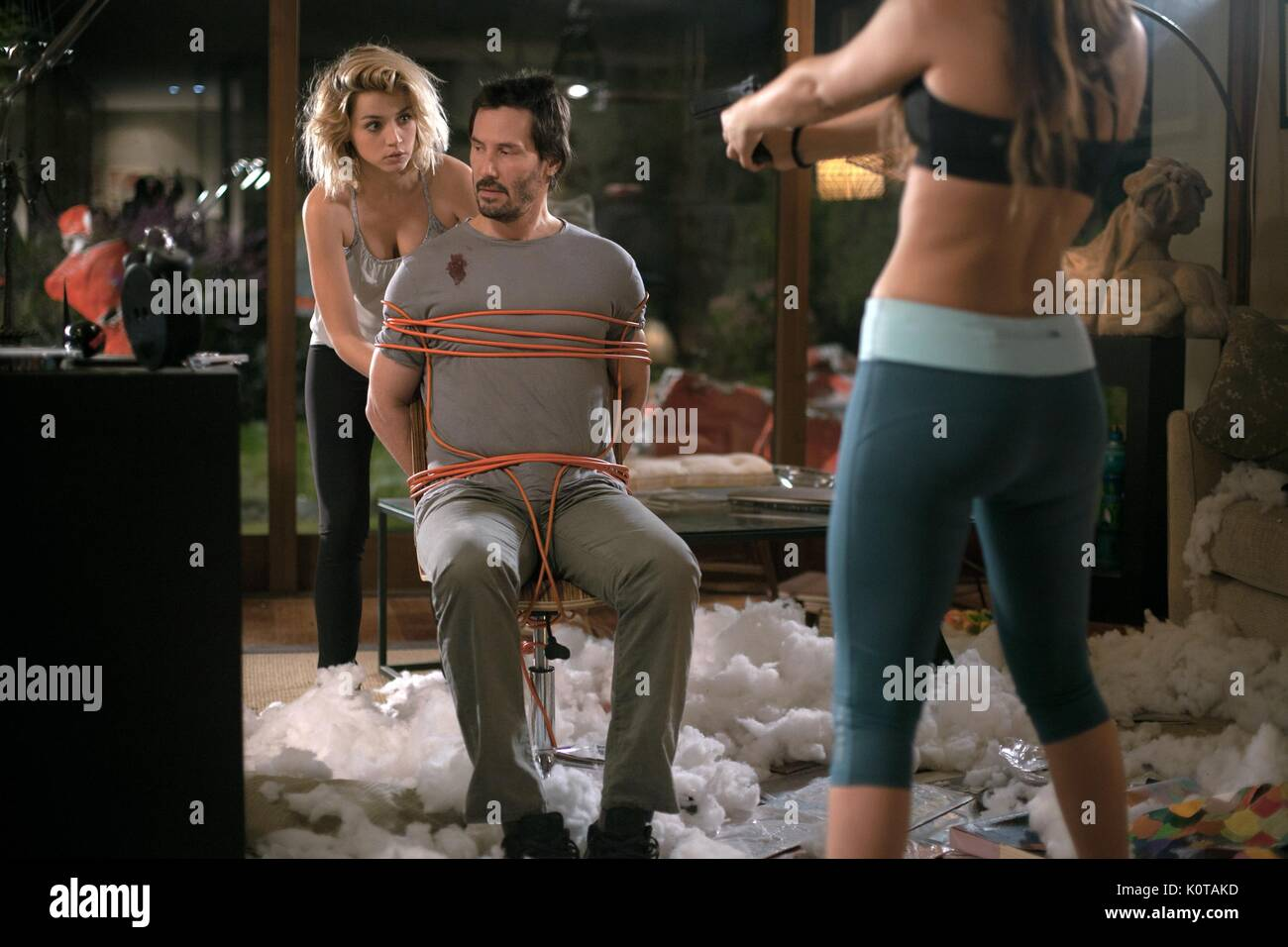 Ana De Armas Keanu Reeves Knock Knock 2015 Stock Photo Alamy