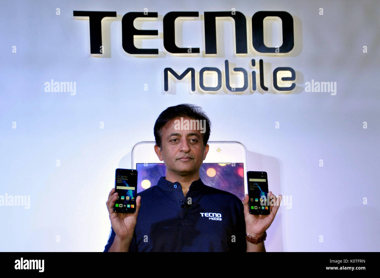 CEO (Tecno & Infinix India), Anish Kapoor during Tecno Mobile launch