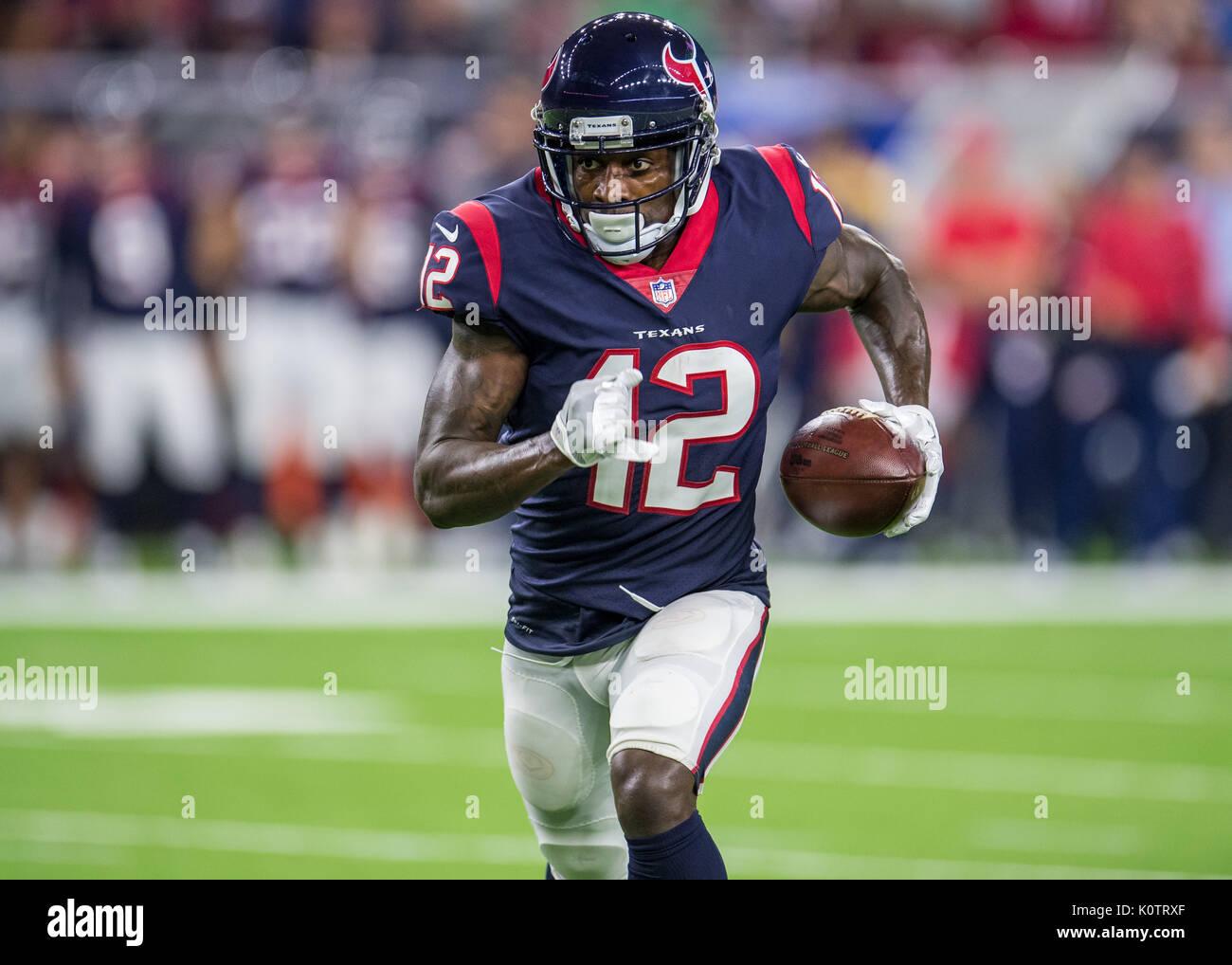 August 19, 2017: Houston Texans wide receiver Bruce Ellington (12 ...