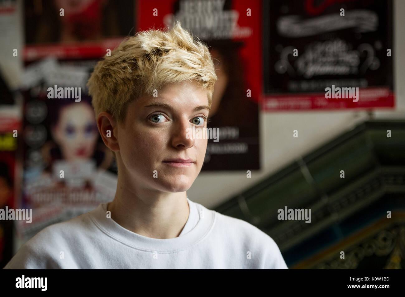 Edinburgh, UK. 24th Aug, 2017. Edinburgh Comedy Awards, Best Comedy Show nominees. Pictured Mae Martin: Dope. Credit: Steven Scott Taylor/Alamy Live News