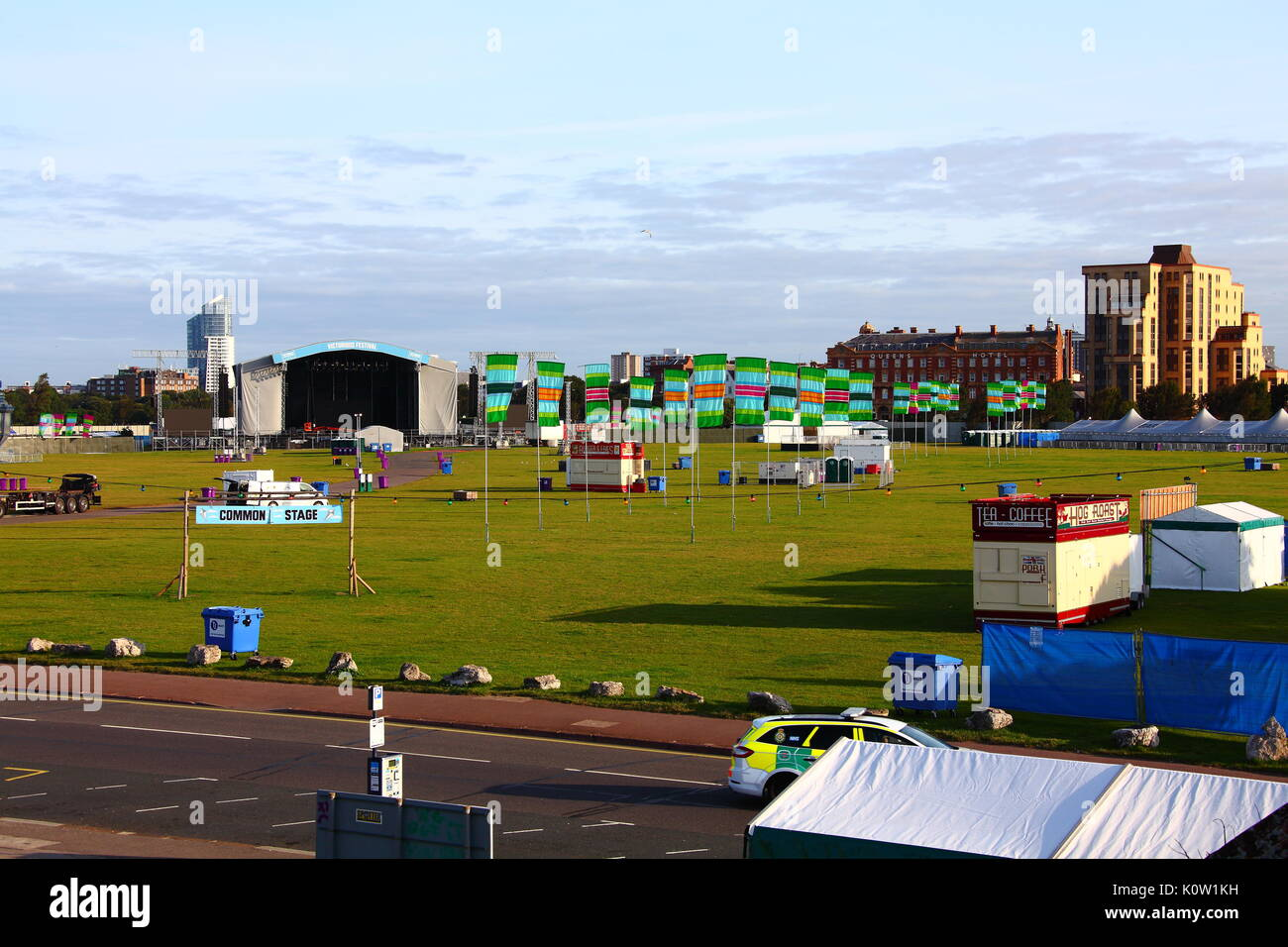 Southsea, UK. 24th August, 2017. Victorious Festival in Southsea August Bank Holiday Weekend 2017 Credit: FSM Photography/Alamy Stock Photo