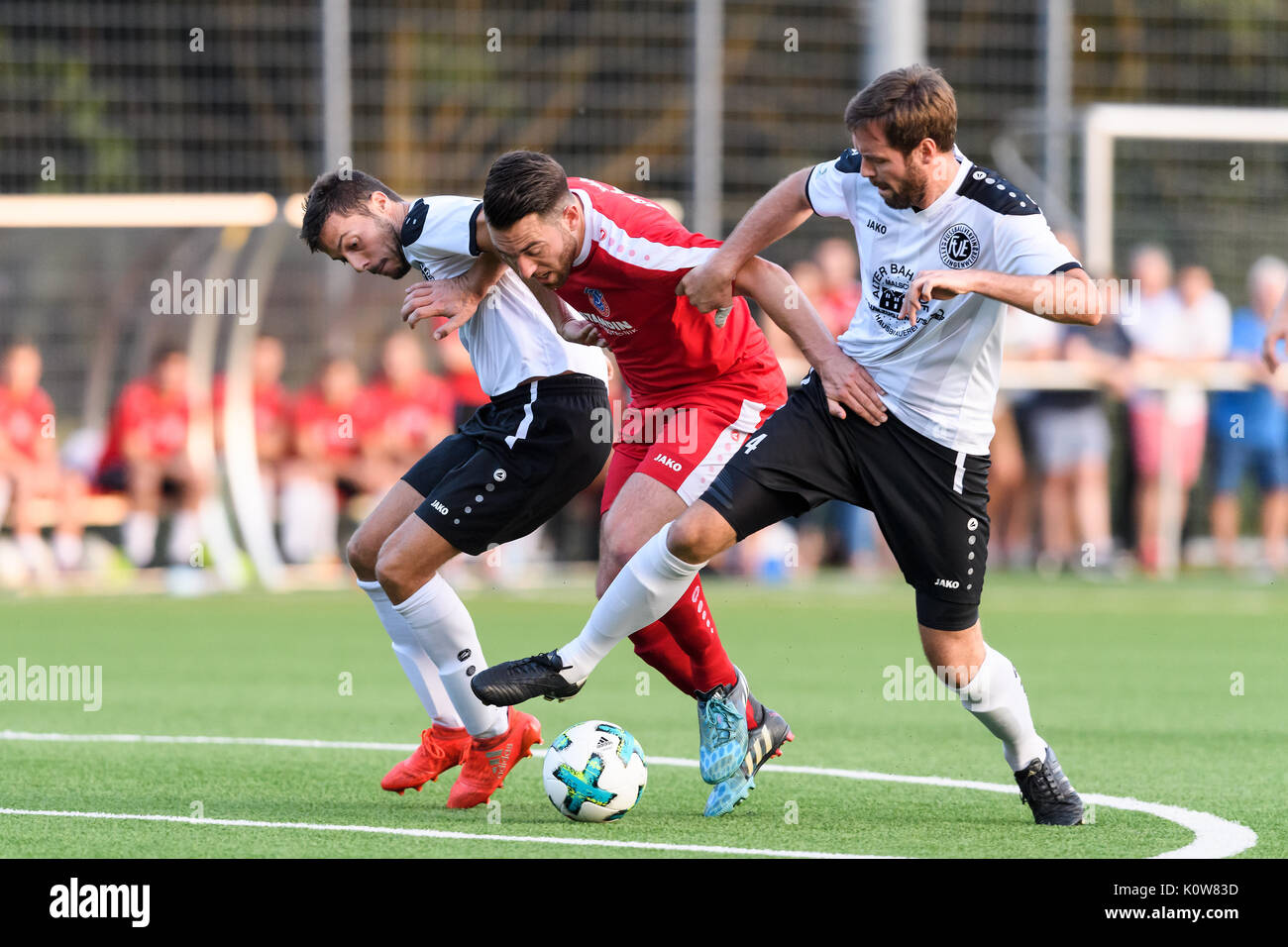 Atsv Mutschelbach: Amateurfussballspieler Stock Photos