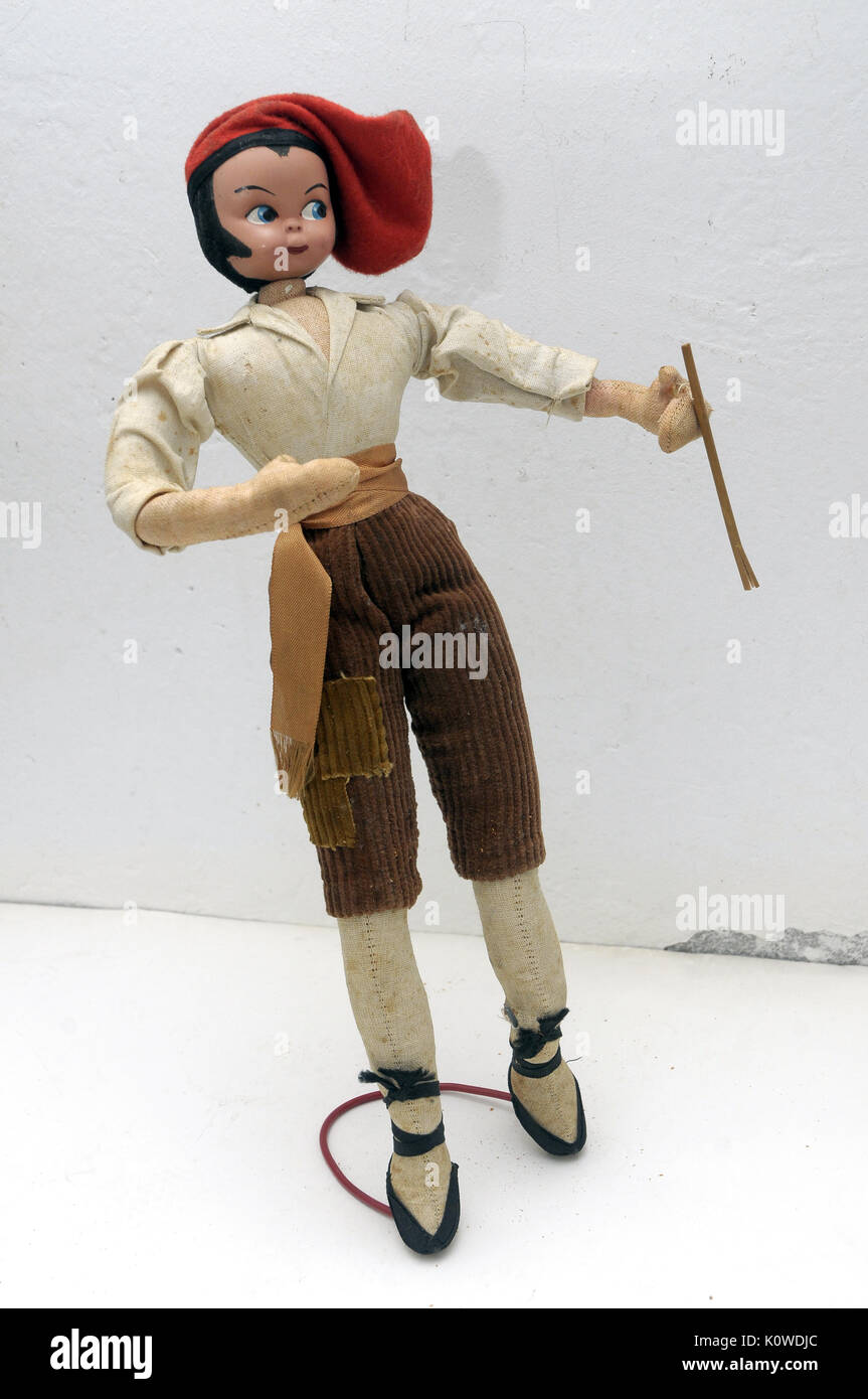Old doll wire - Stock Image