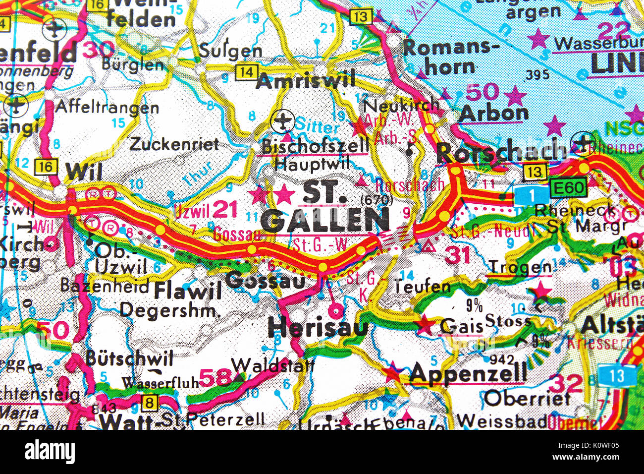 St Gallen Stock Photos St Gallen Stock Images Alamy
