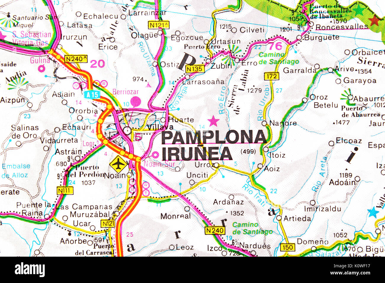 Pamplona Irunea Stock s & Pamplona Irunea Stock Alamy
