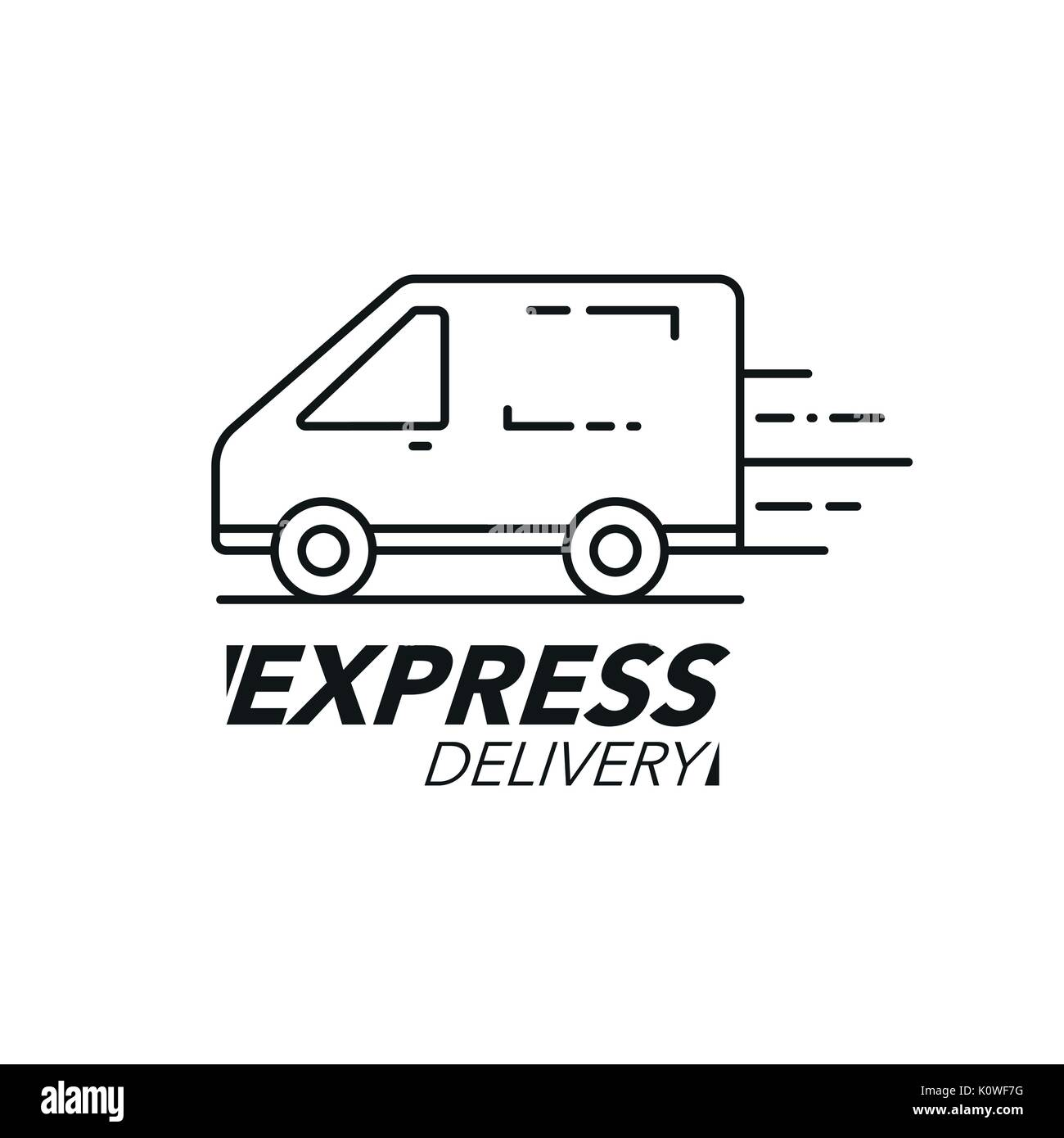 Concept Van Stock Photos Images Alamy White Ford Cargo Clip Art Express Delivery Icon Service Order Worldwide Shipping Modern Design Vector