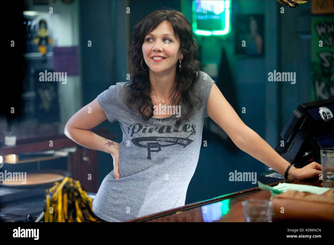 MAGGIE GYLLENHAAL WON'T BACK DOWN (2012) - Stock Image