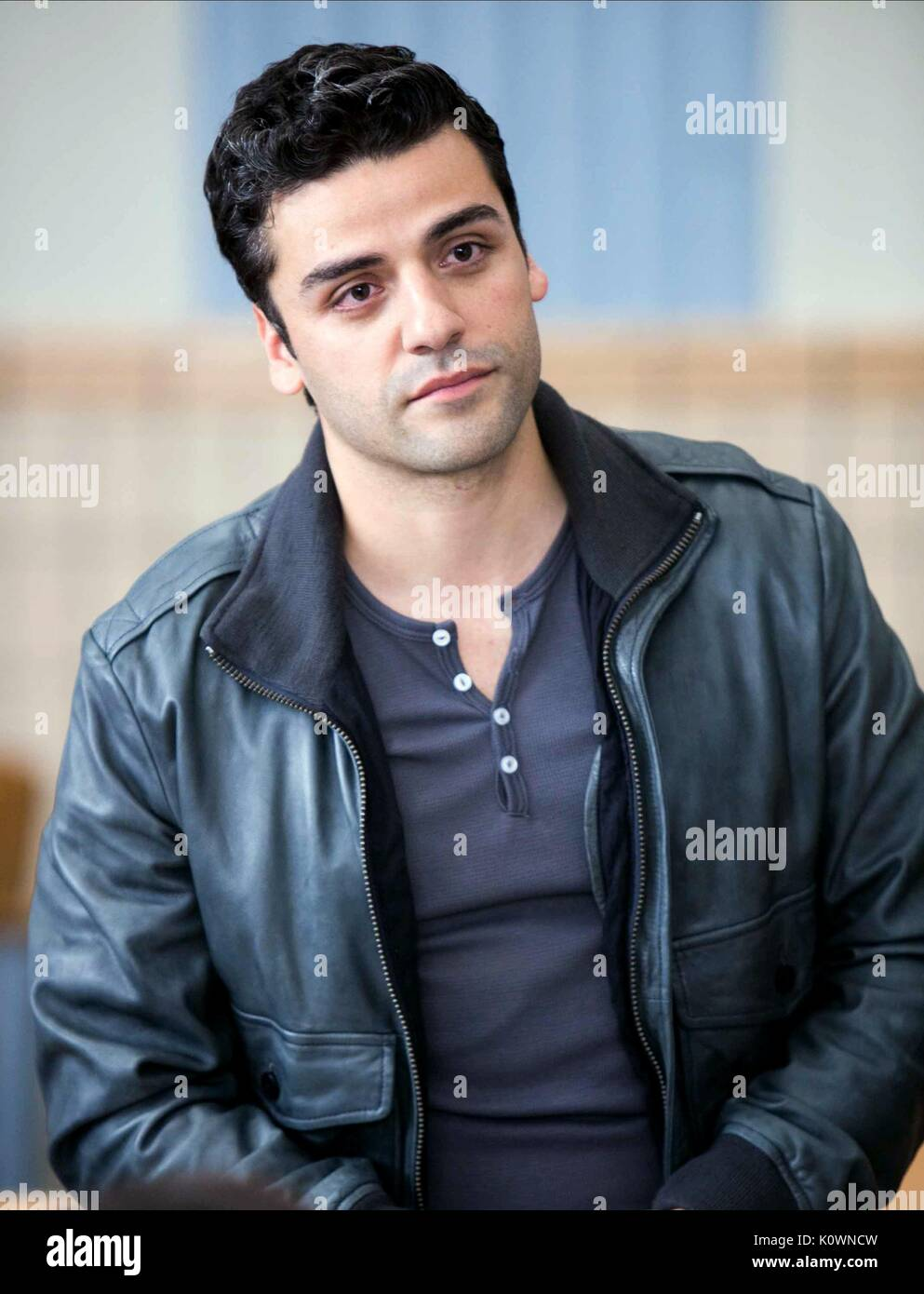 OSCAR ISAAC WON'T BACK DOWN (2012) - Stock Image