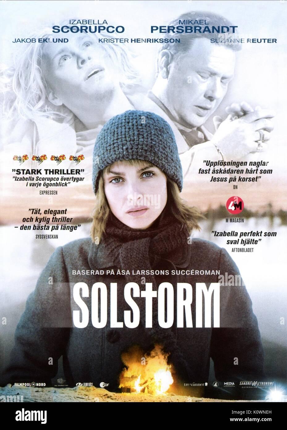 IZABELLA SCORUPCO SOLSTORM (2007) - Stock Image