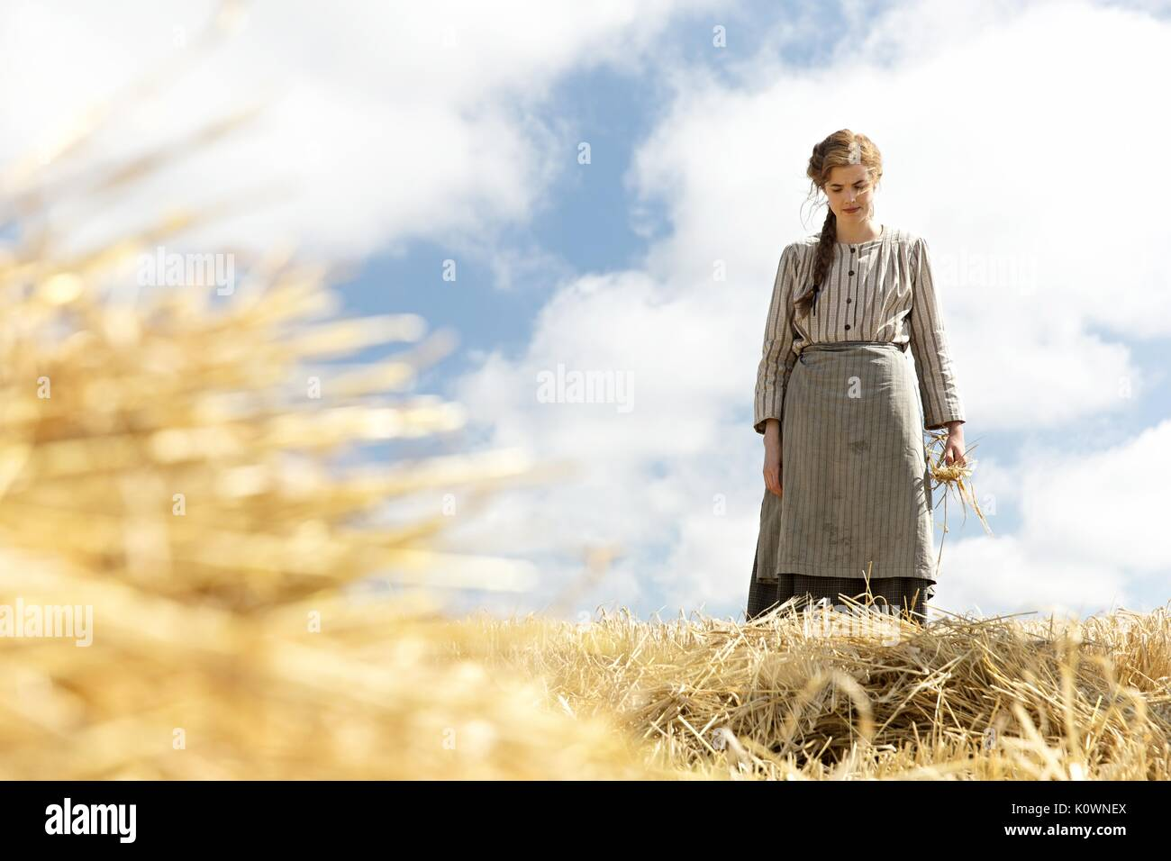 AGYNESS DEYN SUNSET SONG (2015) - Stock Image