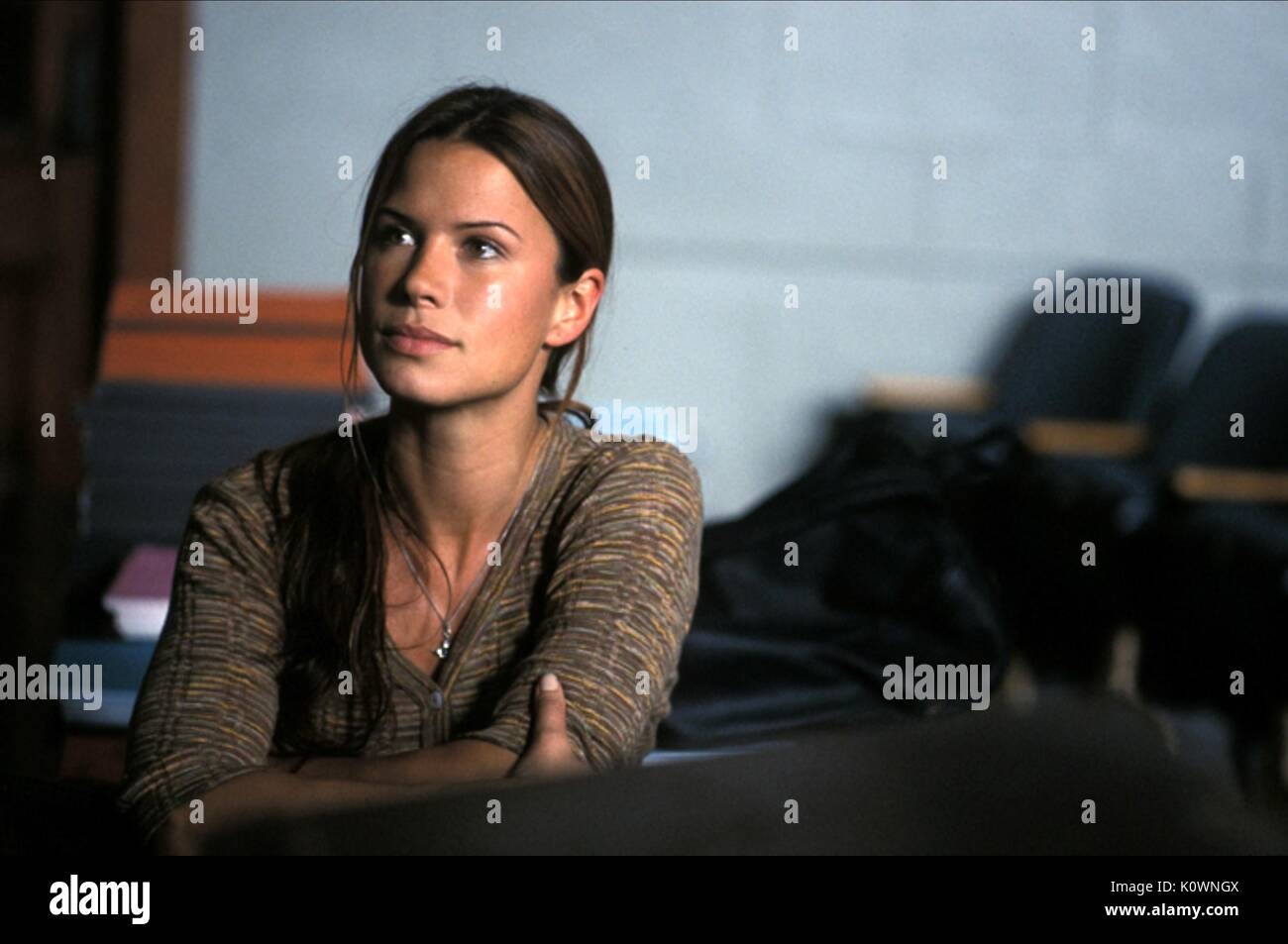 RHONA MITRA THE LIFE OF DAVID GALE (2003) - Stock Image
