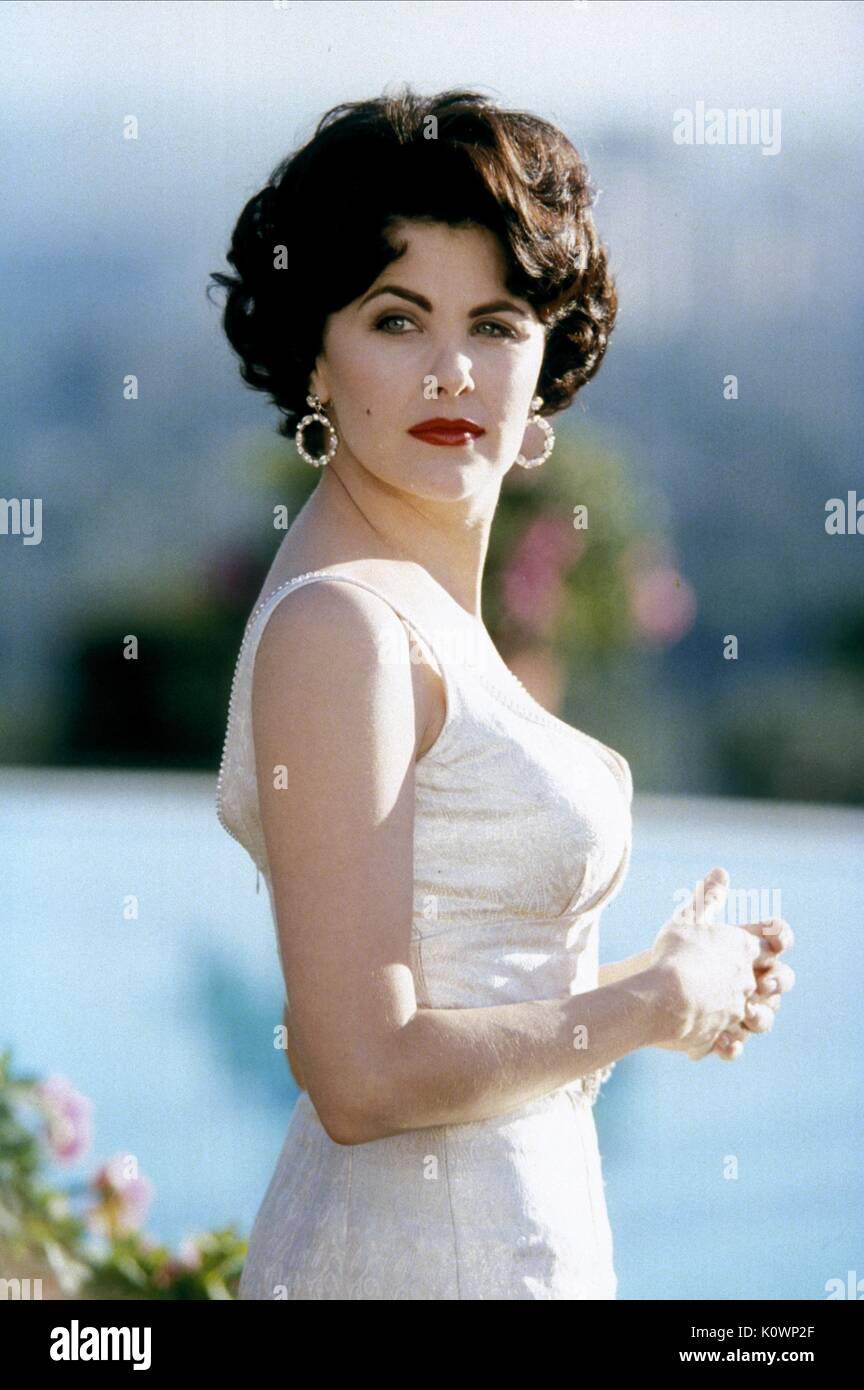SHERILYN FENN LIZ:THE ELIZABETH TAYLOR STORY (1995) - Stock Image