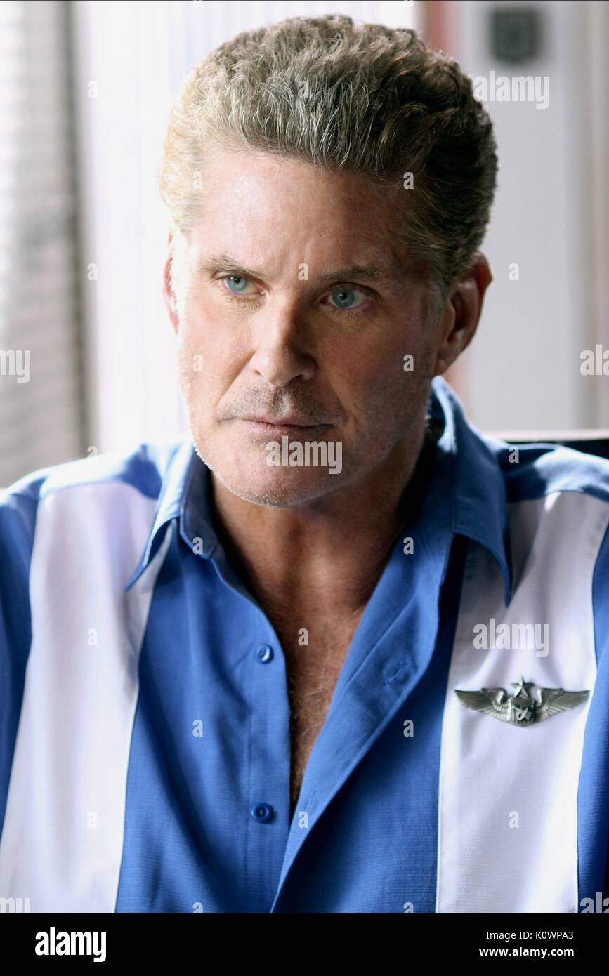 DAVID HASSELHOFF SHARKNADO 3: OH HELL NO! (2015) - Stock Image