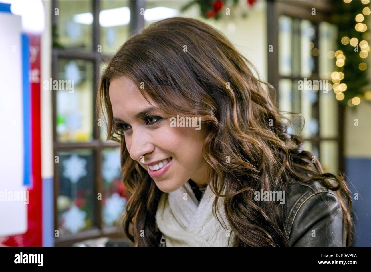 LACEY CHABERT A CHRISTMAS MELODY (2015) - Stock Image