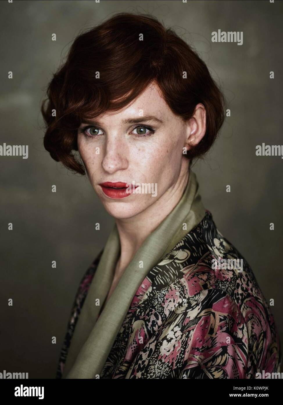 EDDIE REDMAYNE THE DANISH GIRL (2015) - Stock Image
