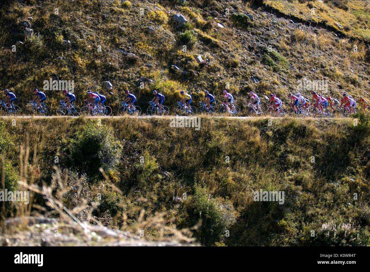 CYCLISTS THE PROGRAM (2015) - Stock Image