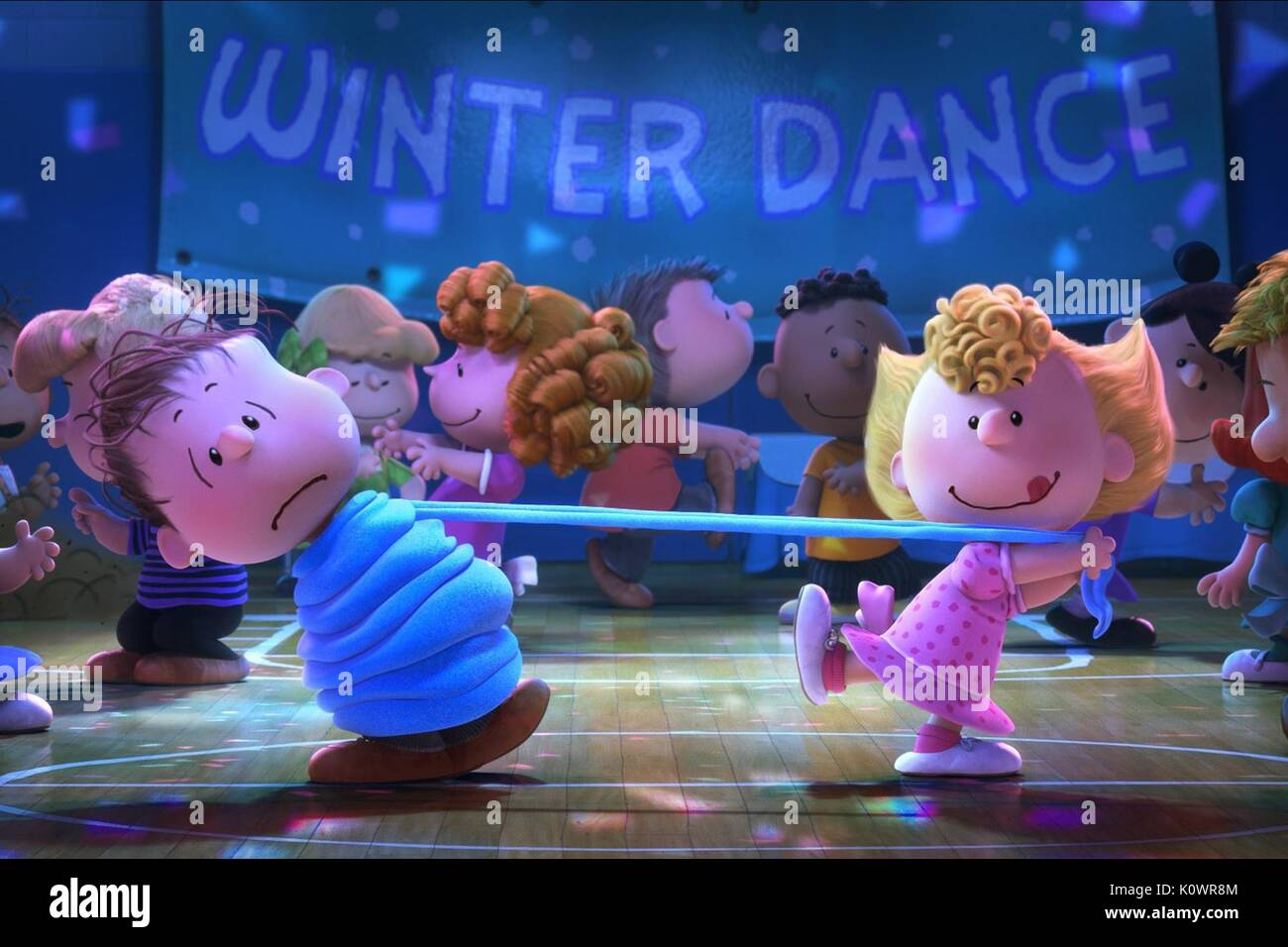 peanuts movie from 2015