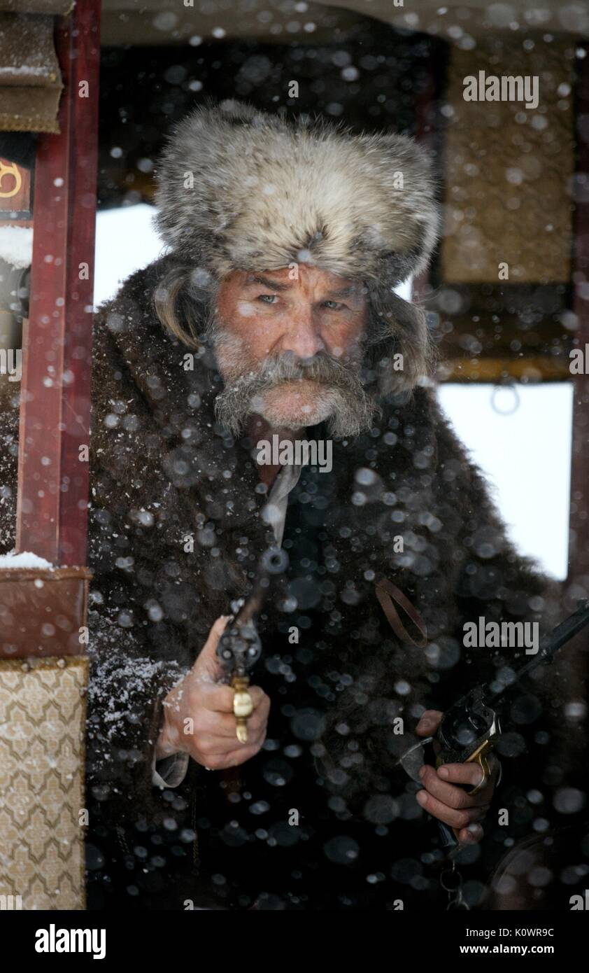Kurt Russell The Hateful Eight The Hateful 8 The H8ful Eight 2015 Stock Photo Alamy