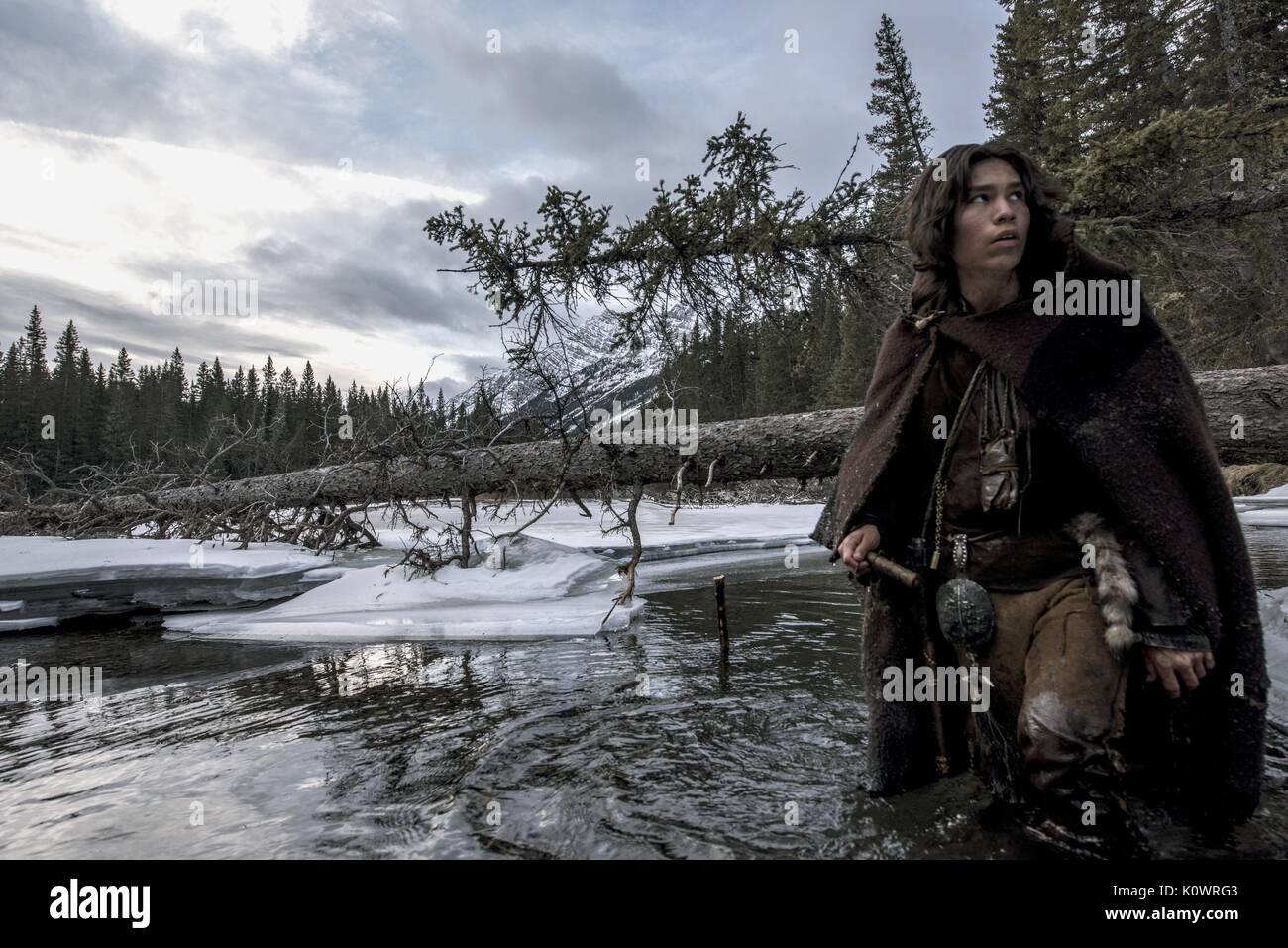 FORREST GOODLUCK THE REVENANT (2015) - Stock Image