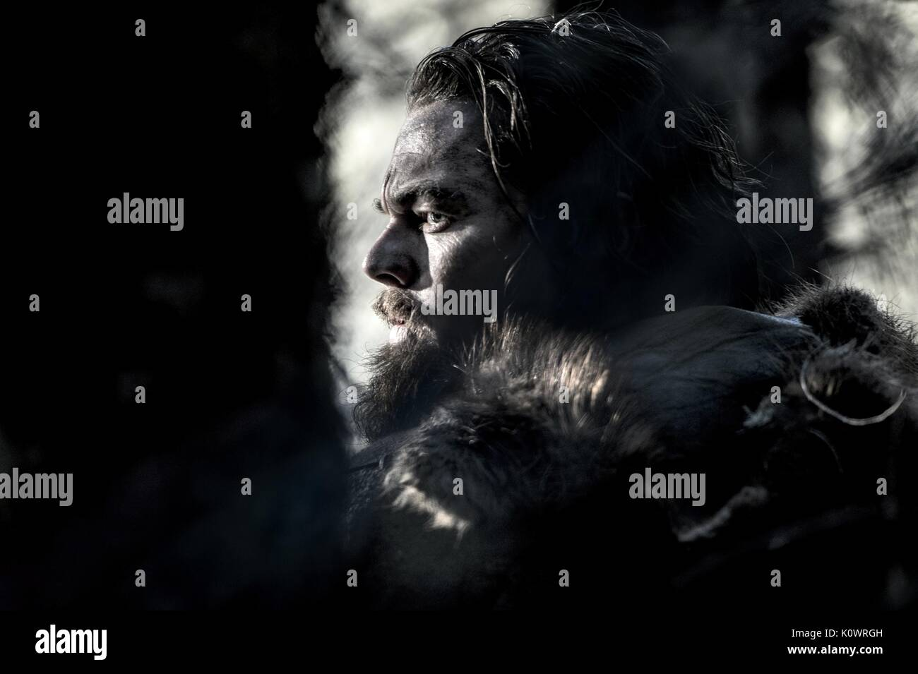 LEONARDO DICAPRIO THE REVENANT (2015) - Stock Image
