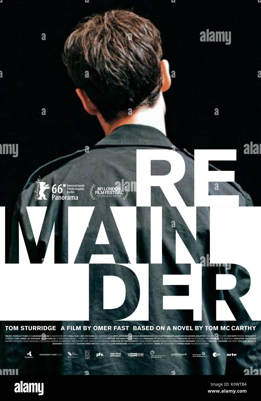 MOVIE POSTER REMAINDER (2015) - Stock Image