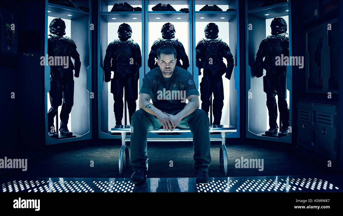 WES CHATHAM THE EXPANSE (2015) - Stock Image