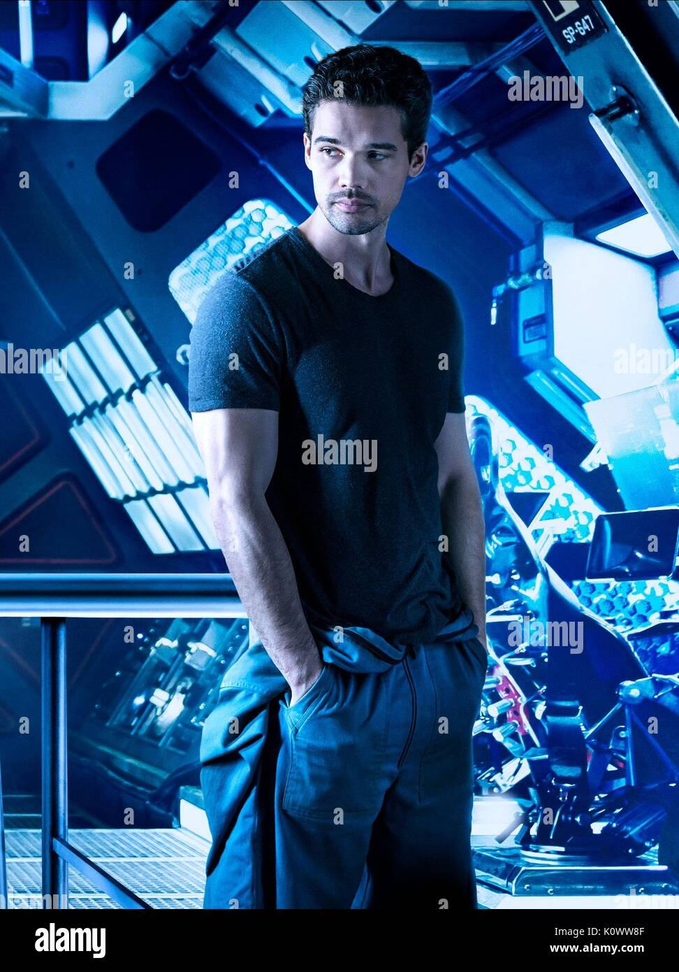 STEVEN STRAIT THE EXPANSE (2015) - Stock Image
