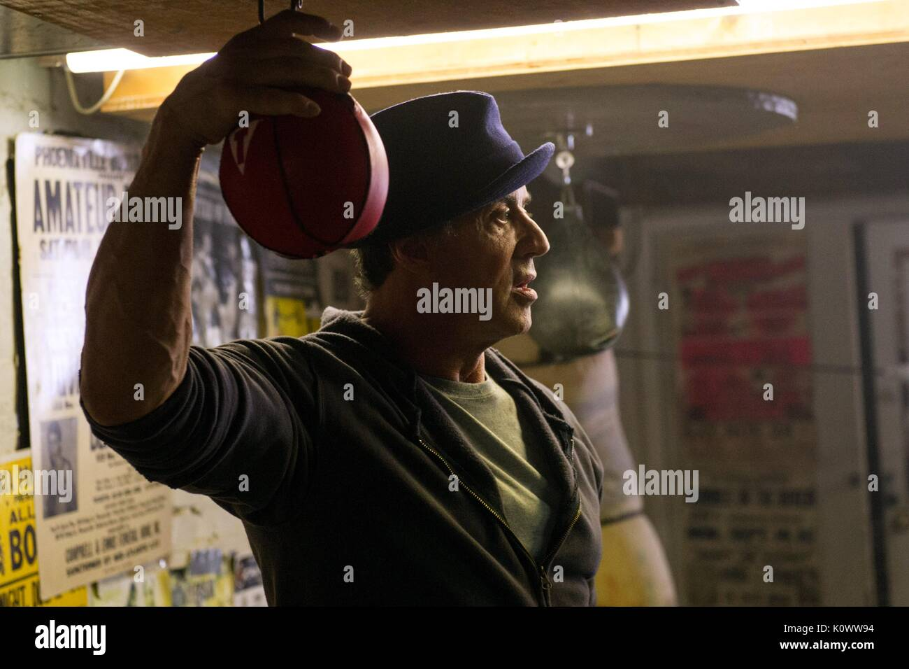 SYLVESTER STALLONE CREED (2015) - Stock Image