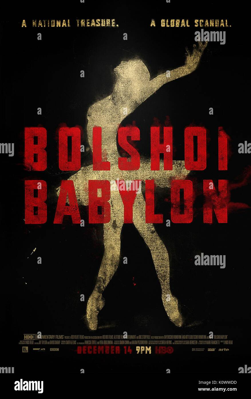 MOVIE POSTER BOLSHOI BABYLON (2015) Stock Photo