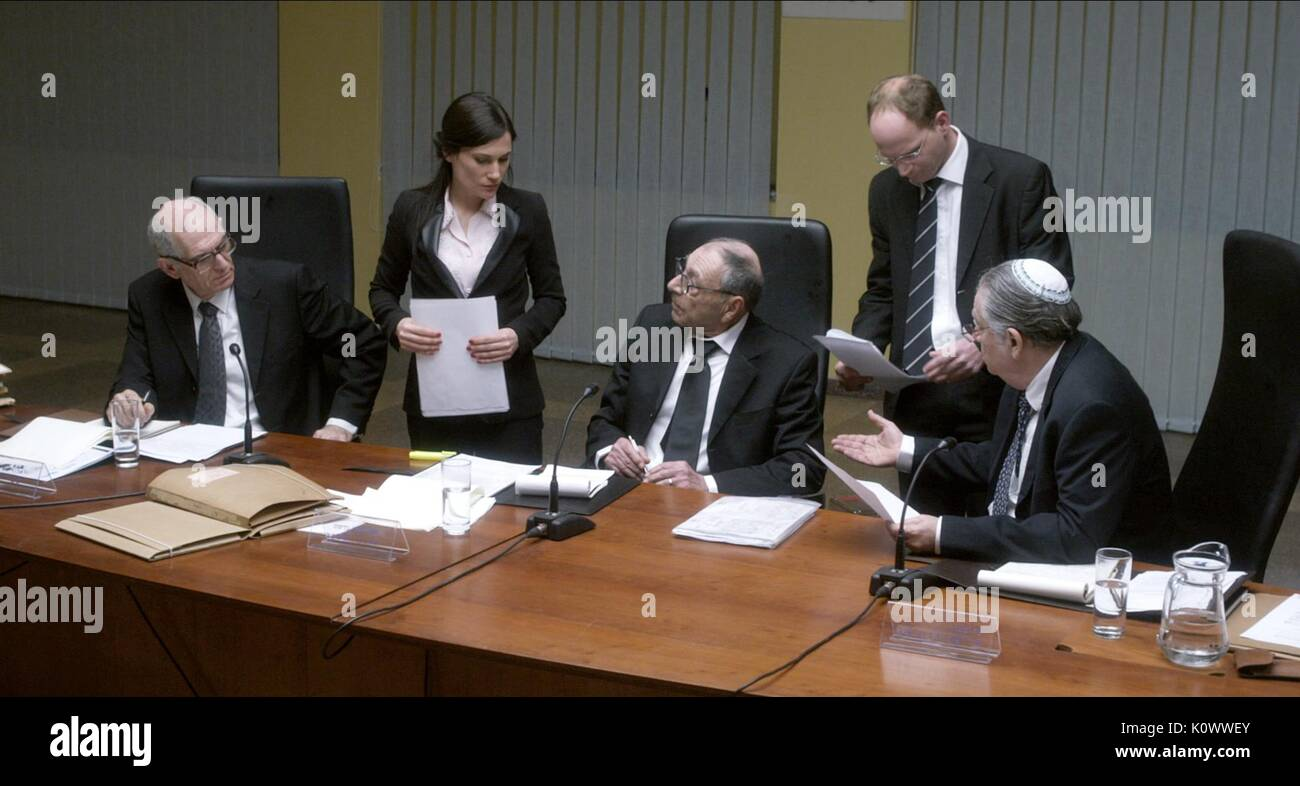 THE SHAMGAR COMMISSION SCENE RABIN THE LAST DAY (2015) - Stock Image