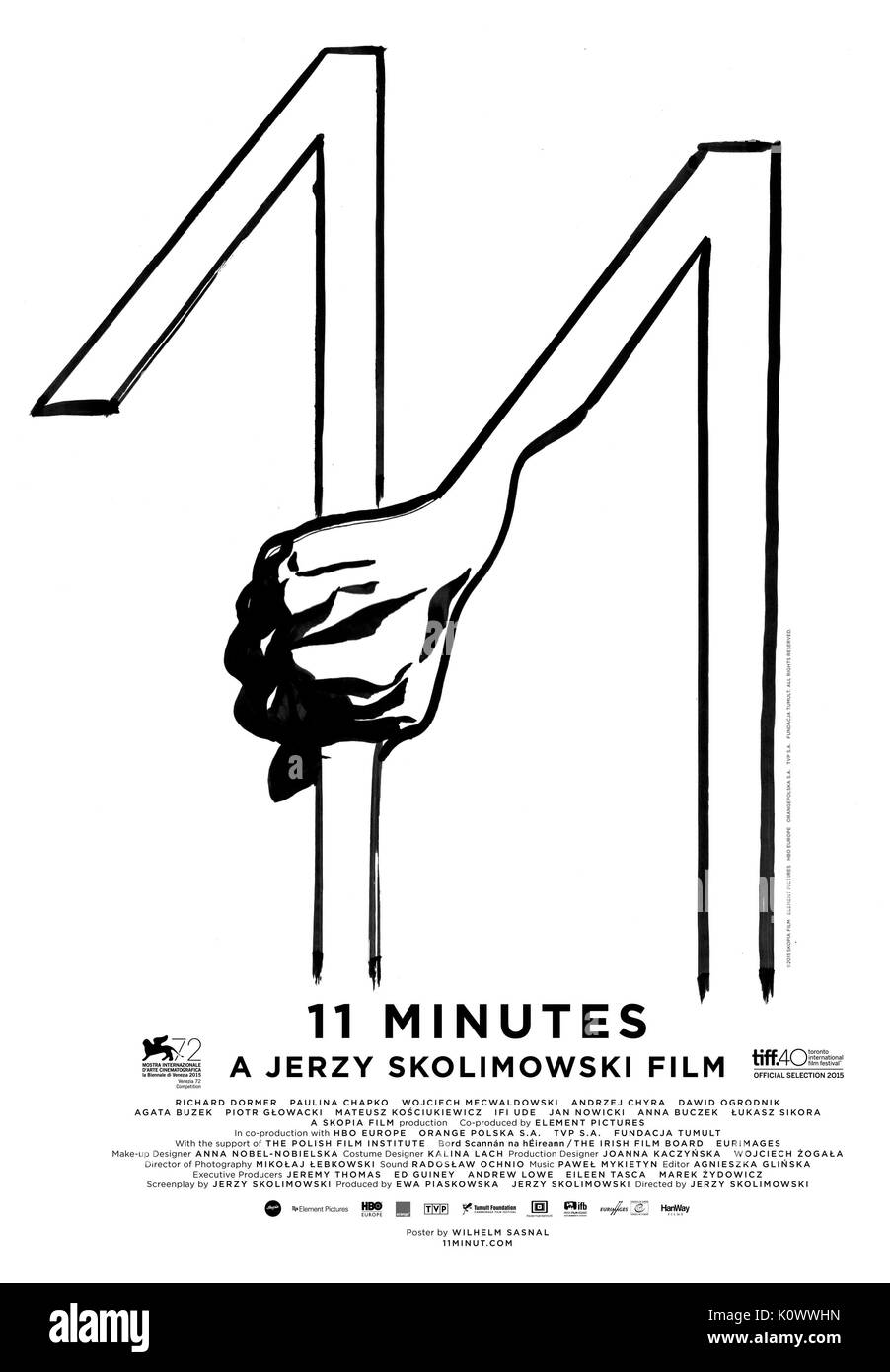 MOVIE POSTER 11 MINUTES; 11 MINUT (2015) - Stock Image