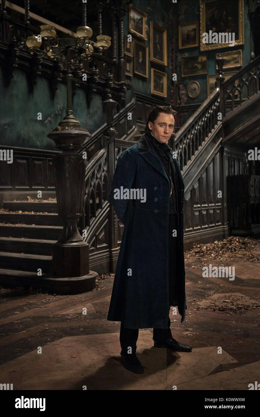TOM HIDDLESTON CRIMSON PEAK (2015) - Stock Image