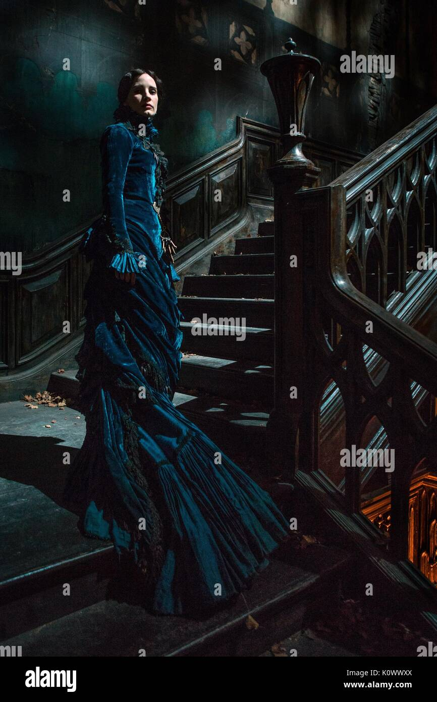 JESSICA CHASTAIN CRIMSON PEAK (2015) - Stock Image