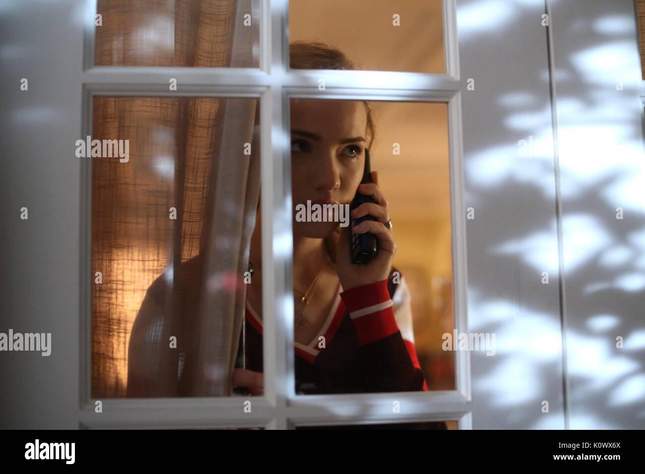 WILLA FITZGERALD SCREAM: THE TV SERIES (2015) - Stock Image