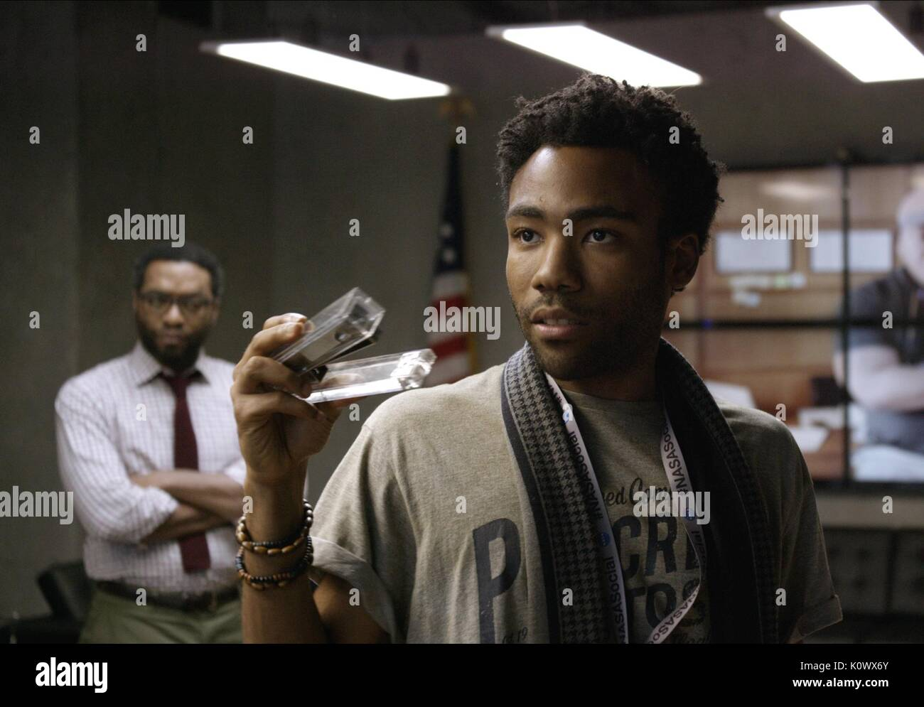 CHIWETEL EJIOFOR & DONALD GLOVER THE MARTIAN (2015) - Stock Image