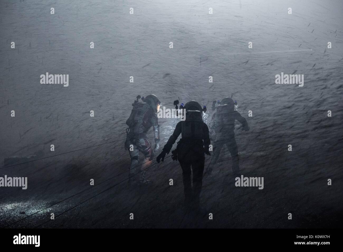 ASTRONAUTS THE MARTIAN (2015) - Stock Image